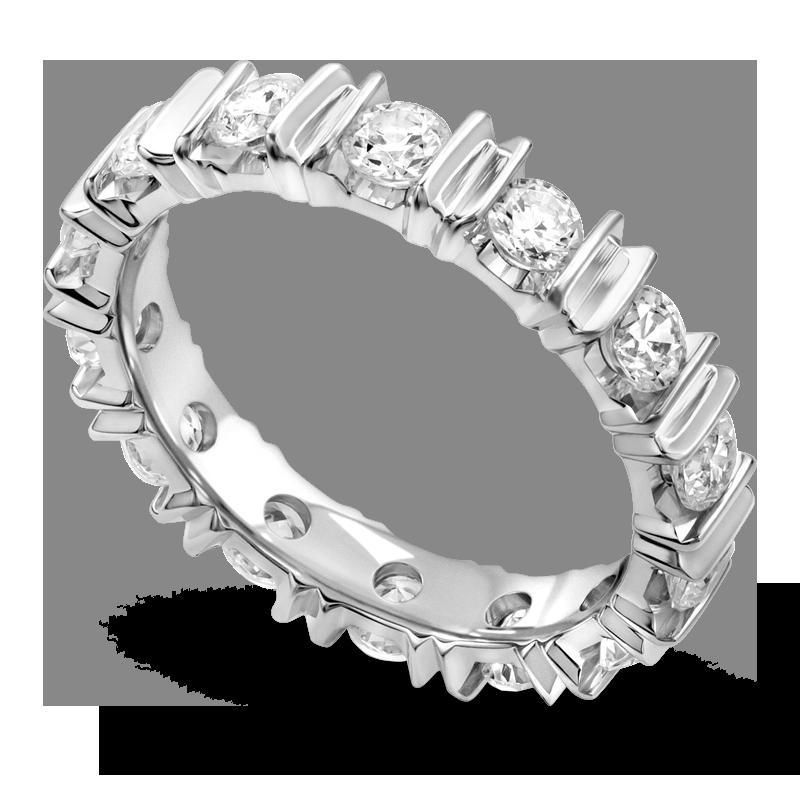 Standard view of ARBG in white metal