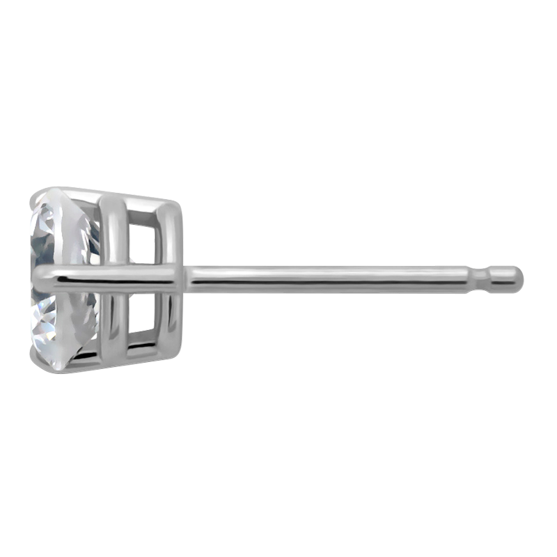 Profile view of ET35 in white metal
