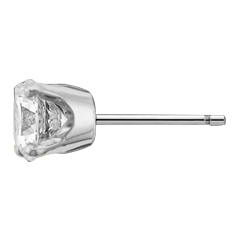 Profile view of ET48 in white metal