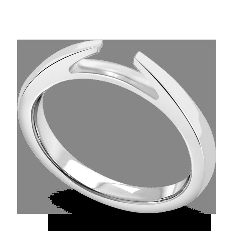 Standard view of SHPC100 in white metal