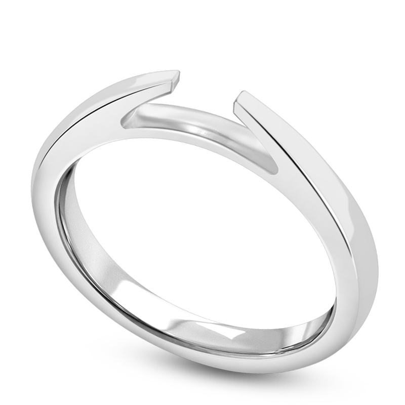 Standard view of SHPC101 in white metal