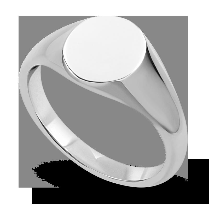 Standard view of SIGOV10 in white metal