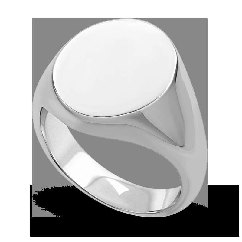 Standard view of SIGOV18 in white metal