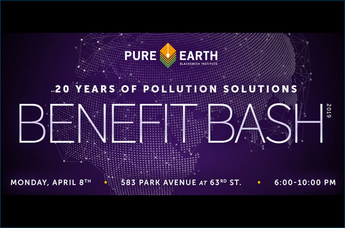Pure Earth Benefit Bash