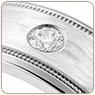 Diamond & Gem Wedding Bands